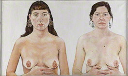 by Ishbel Myerscough, oil on canvas, 1991